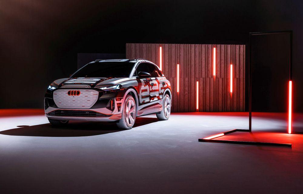 Audi Q4 e-tron: primele imagini și informații din interiorul SUV-ului electric - Poza 35