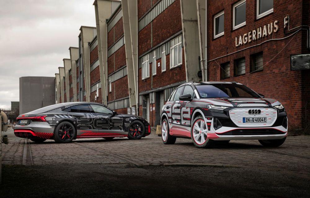 Audi Q4 e-tron: primele imagini și informații din interiorul SUV-ului electric - Poza 46