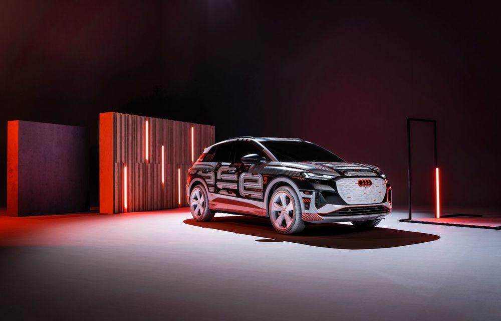 Audi Q4 e-tron: primele imagini și informații din interiorul SUV-ului electric - Poza 38