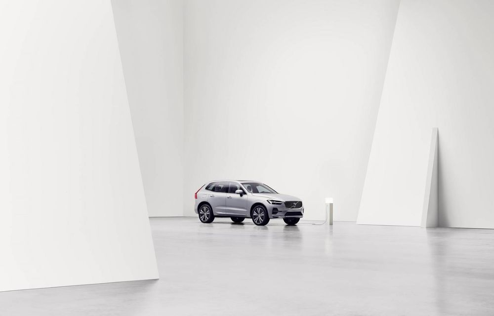 Volvo XC60 facelift: design ușor revizuit și sistem de operare Android - Poza 2