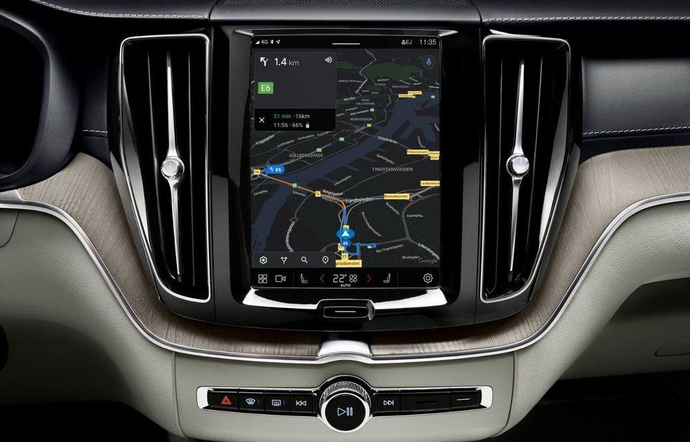 Volvo XC60 facelift: design ușor revizuit și sistem de operare Android - Poza 10