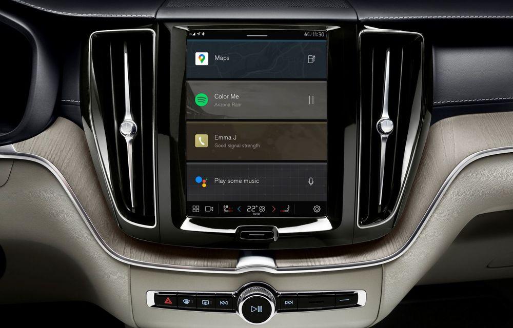 Volvo XC60 facelift: design ușor revizuit și sistem de operare Android - Poza 11