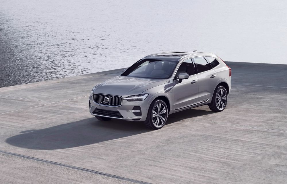 Volvo XC60 facelift: design ușor revizuit și sistem de operare Android - Poza 1
