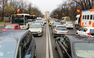 București, cel mai aglomerat oraș din lume: șoferii pierd anual 134 de ore în trafic