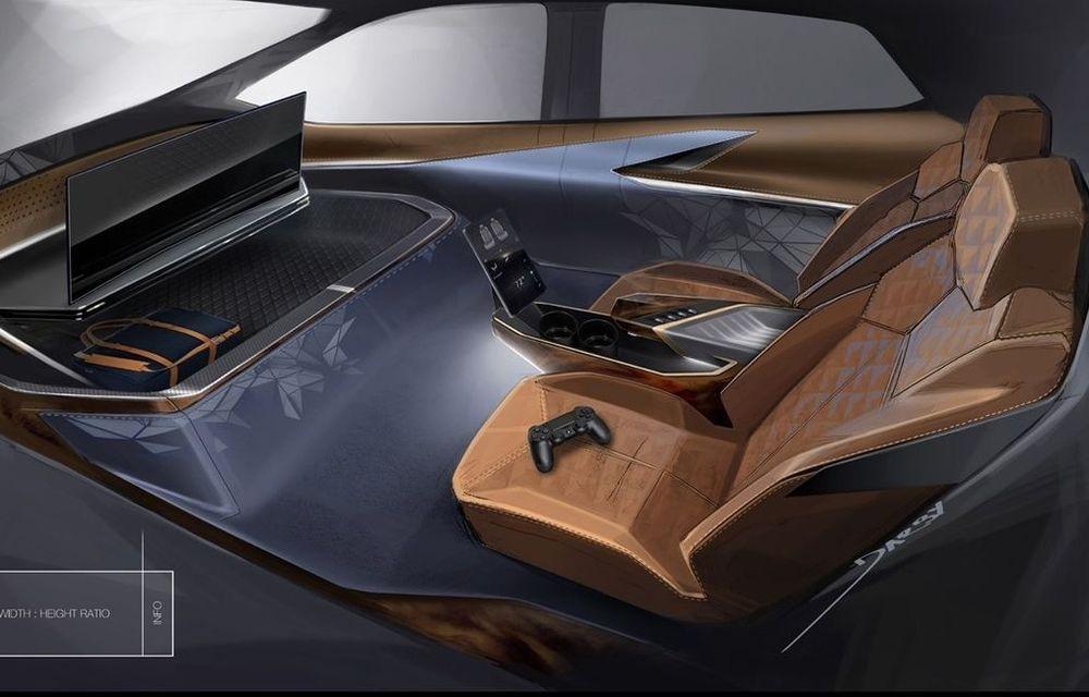 General Motors își imaginează interiorul mașinilor autonome cu o consolă de jocuri integrată - Poza 1