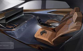 General Motors își imaginează interiorul mașinilor autonome cu o consolă de jocuri integrată