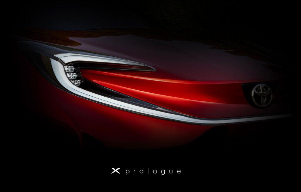 Teaser cu noua Toyota X Prologue. Ar putea anunța un SUV compact cu zero emisii - Poza 1