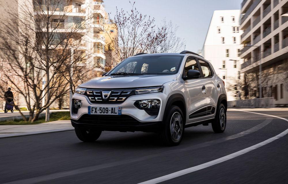 Dacia Spring are un preț de pornire de 16.800 de euro în România: precomenzile se deschid în 20 martie - Poza 1