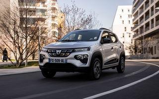 Dacia Spring are un preț de pornire de 16.800 de euro în România: precomenzile se deschid în 20 martie