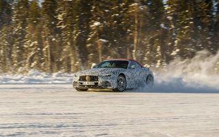 Noul Mercedes-AMG SL a început ultimele teste în condiții de iarnă