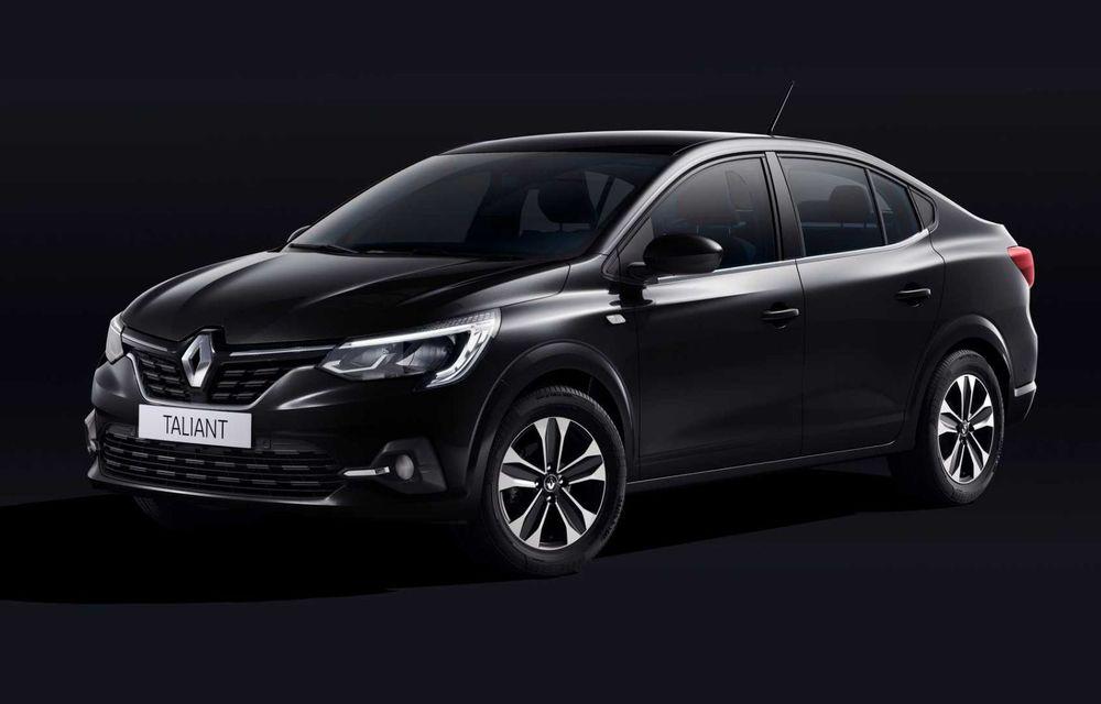 Acesta este noul Taliant! O Dacia Logan cu siglă Renault, lansată recent în Turcia - Poza 2