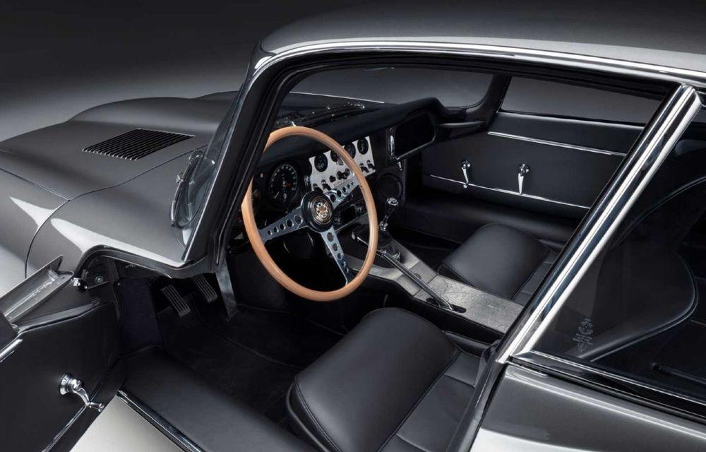 60 de ani de Jaguar E-Type: britanicii marchează momentul cu 12 exemplare clasice restaurate complet - Poza 15