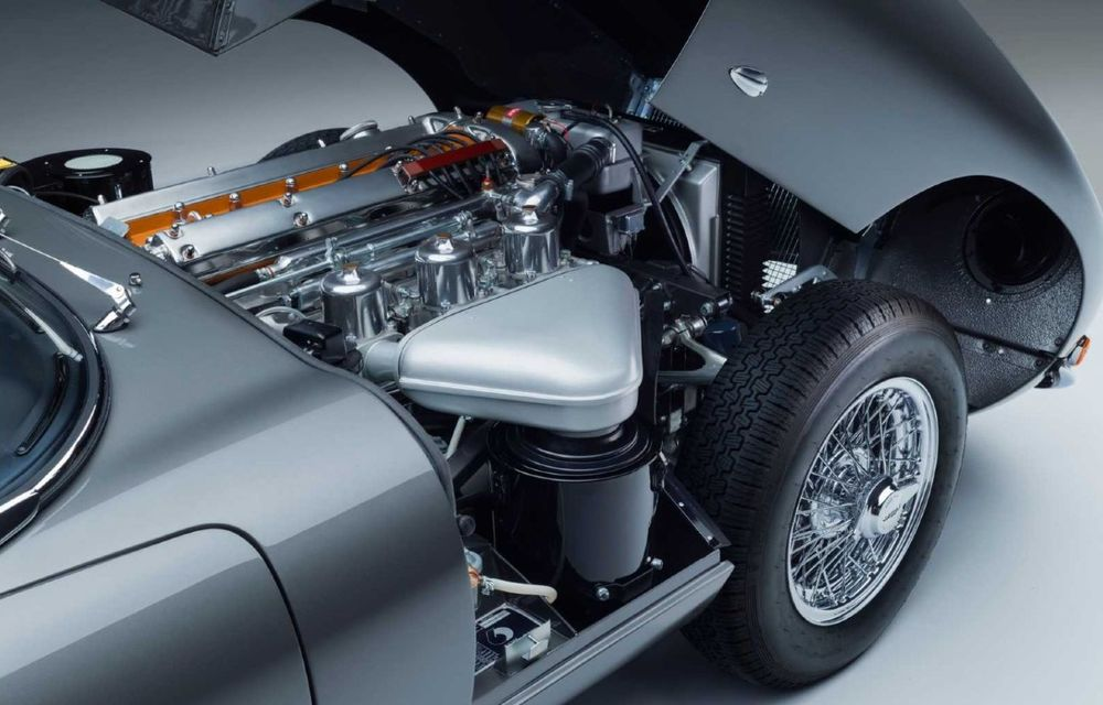 60 de ani de Jaguar E-Type: britanicii marchează momentul cu 12 exemplare clasice restaurate complet - Poza 18