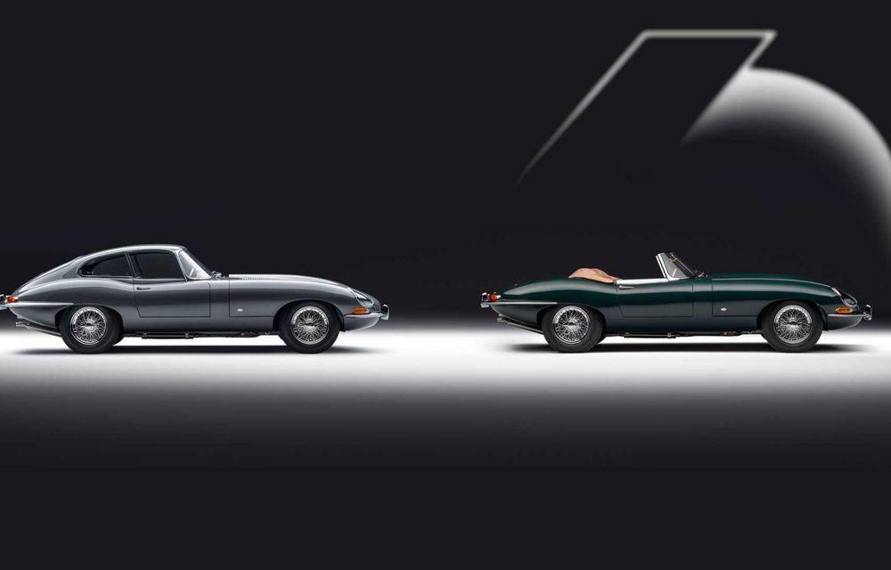 60 de ani de Jaguar E-Type: britanicii marchează momentul cu 12 exemplare clasice restaurate complet - Poza 3