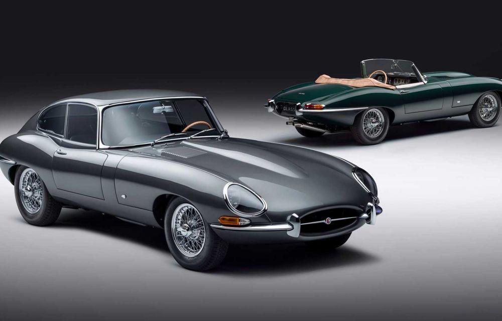60 de ani de Jaguar E-Type: britanicii marchează momentul cu 12 exemplare clasice restaurate complet - Poza 2