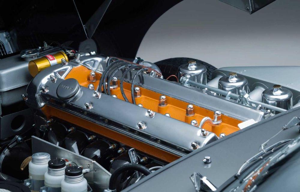 60 de ani de Jaguar E-Type: britanicii marchează momentul cu 12 exemplare clasice restaurate complet - Poza 19