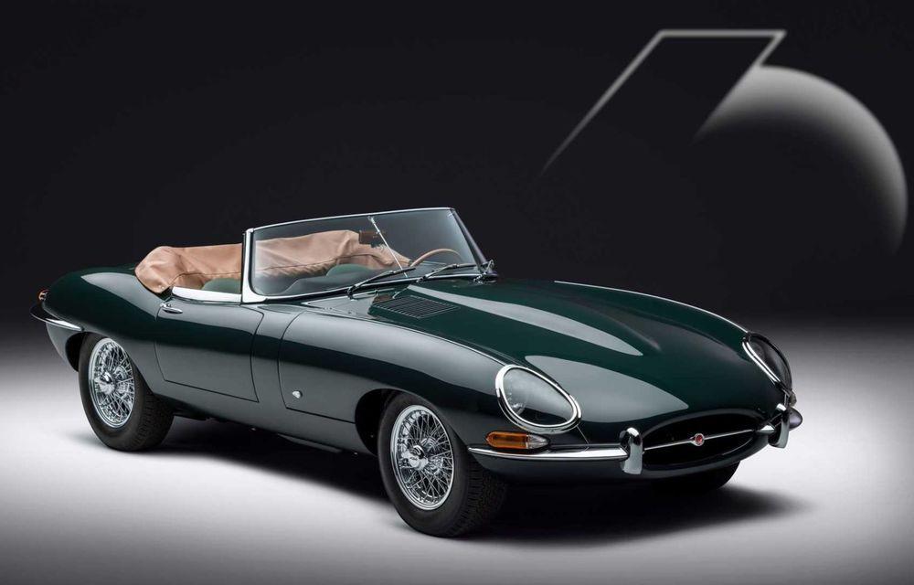 60 de ani de Jaguar E-Type: britanicii marchează momentul cu 12 exemplare clasice restaurate complet - Poza 4
