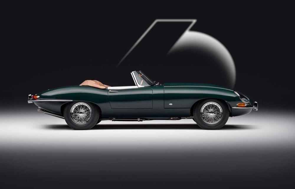 60 de ani de Jaguar E-Type: britanicii marchează momentul cu 12 exemplare clasice restaurate complet - Poza 7