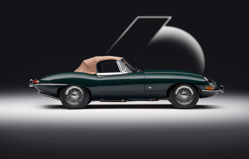 60 de ani de Jaguar E-Type: britanicii marchează momentul cu 12 exemplare clasice restaurate complet - Poza 8