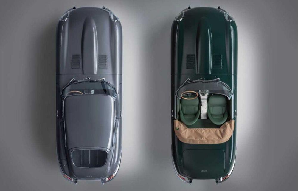 60 de ani de Jaguar E-Type: britanicii marchează momentul cu 12 exemplare clasice restaurate complet - Poza 9