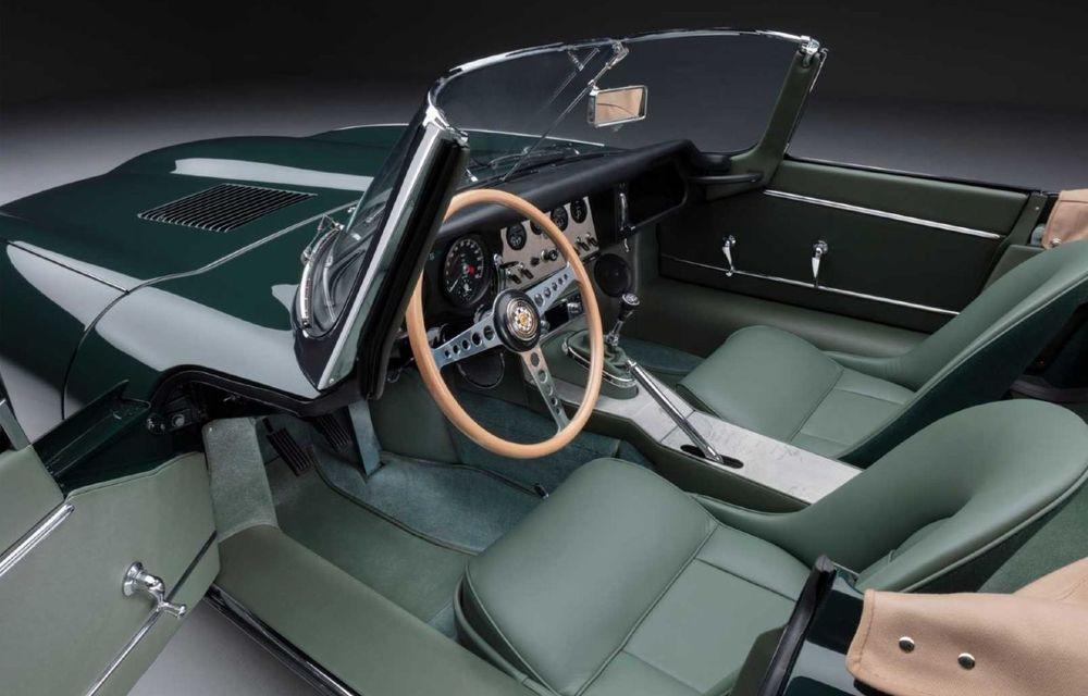 60 de ani de Jaguar E-Type: britanicii marchează momentul cu 12 exemplare clasice restaurate complet - Poza 12