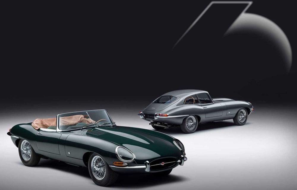 60 de ani de Jaguar E-Type: britanicii marchează momentul cu 12 exemplare clasice restaurate complet - Poza 1
