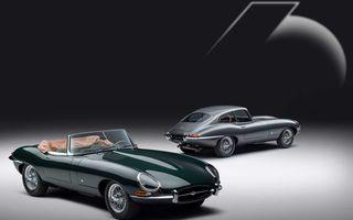 60 de ani de Jaguar E-Type: britanicii marchează momentul cu 12 exemplare clasice restaurate complet