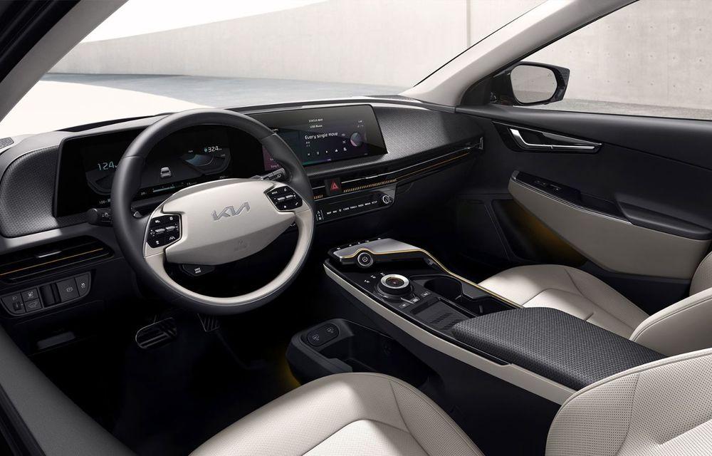 Noul Kia EV6, primele imagini ale crossover-ului electric, frate cu Hyundai Ioniq 5 - Poza 7