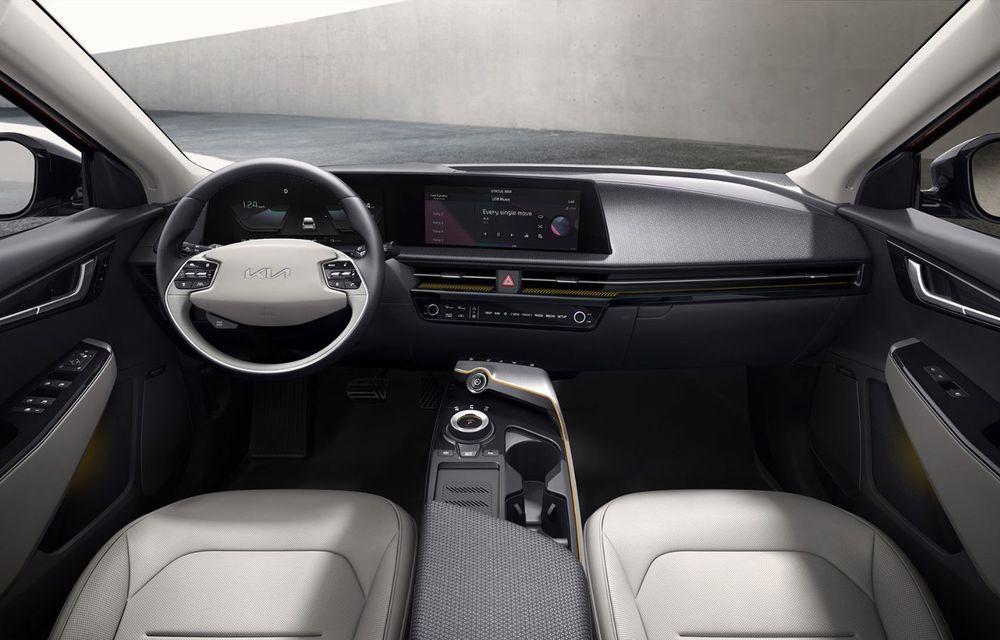 Noul Kia EV6, primele imagini ale crossover-ului electric, frate cu Hyundai Ioniq 5 - Poza 6