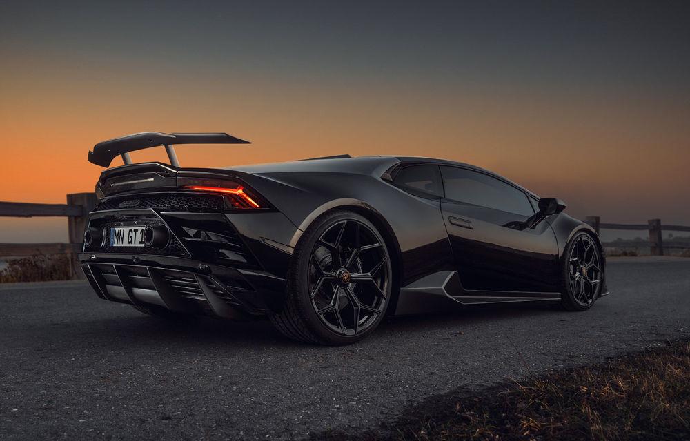 Tuning exclusivist: Novitec transformă supercarul Lamborghini Huracan EVO - Poza 3