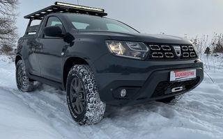 O casă germană de tuning a modificat un Dacia Duster pick-up pentru off-road