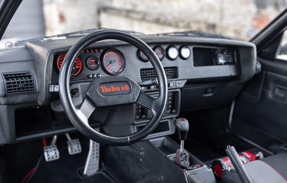 Una dintre legendele Grupei B, acest Peugeot 205 Turbo 16 s-ar putea vinde cu 400.000 de euro la licitație - Poza 7