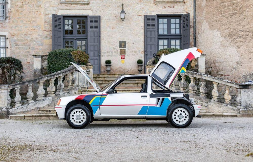 Una dintre legendele Grupei B, acest Peugeot 205 Turbo 16 s-ar putea vinde cu 400.000 de euro la licitație - Poza 3