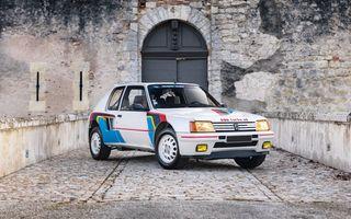 Una dintre legendele Grupei B, acest Peugeot 205 Turbo 16 s-ar putea vinde cu 400.000 de euro la licitație