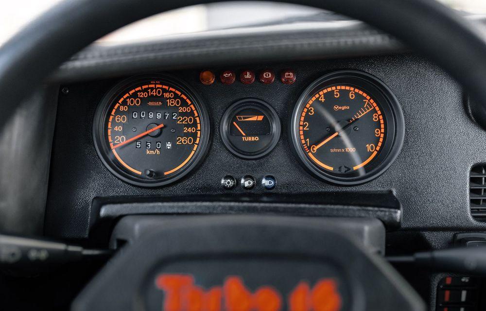Una dintre legendele Grupei B, acest Peugeot 205 Turbo 16 s-ar putea vinde cu 400.000 de euro la licitație - Poza 8