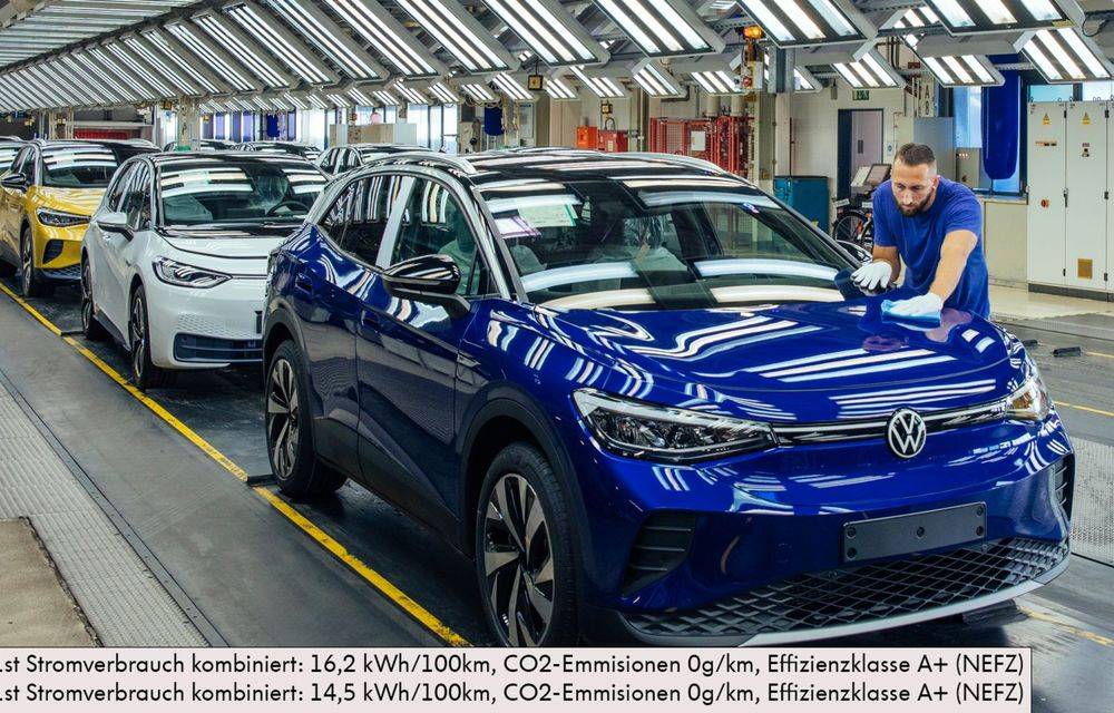 Lansările Grupului Volkswagen în 2021: lista include ID.5, noua generație Fabia și un Bugatti misterios - Poza 2