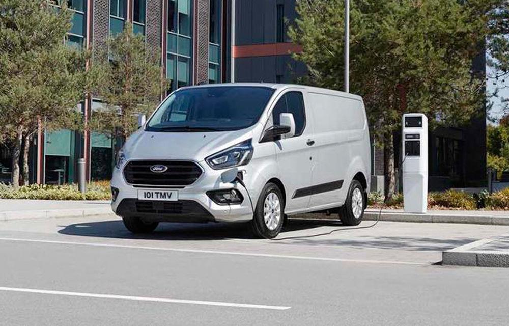 Alianța Ford-Volkswagen: mariajul ne va aduce versiuni electrice pentru Transit și Transporter - Poza 1