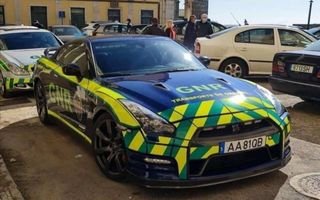 Nissan GT-R, confiscat și folosit de Jandarmeria Portughează pentru transportul de organe