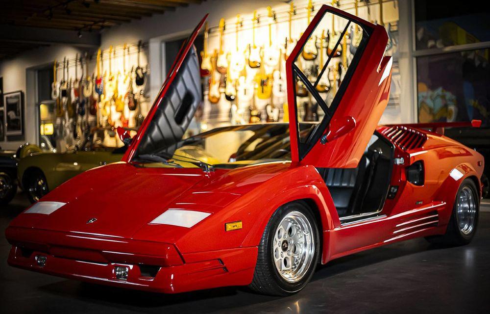 Un Lamborghini Countach 25th Anniversary, cu numai 1000 de kilometri la bord, a fost scos la vânzare - Poza 1