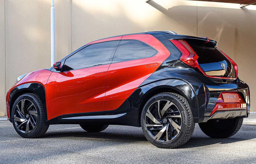 Toyota Aygo X Prologue, conceptul din care se va naște un crossover mini - Poza 3