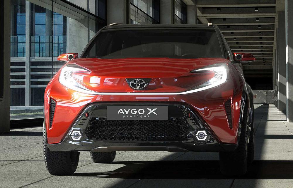 Toyota Aygo X Prologue, conceptul din care se va naște un crossover mini - Poza 5