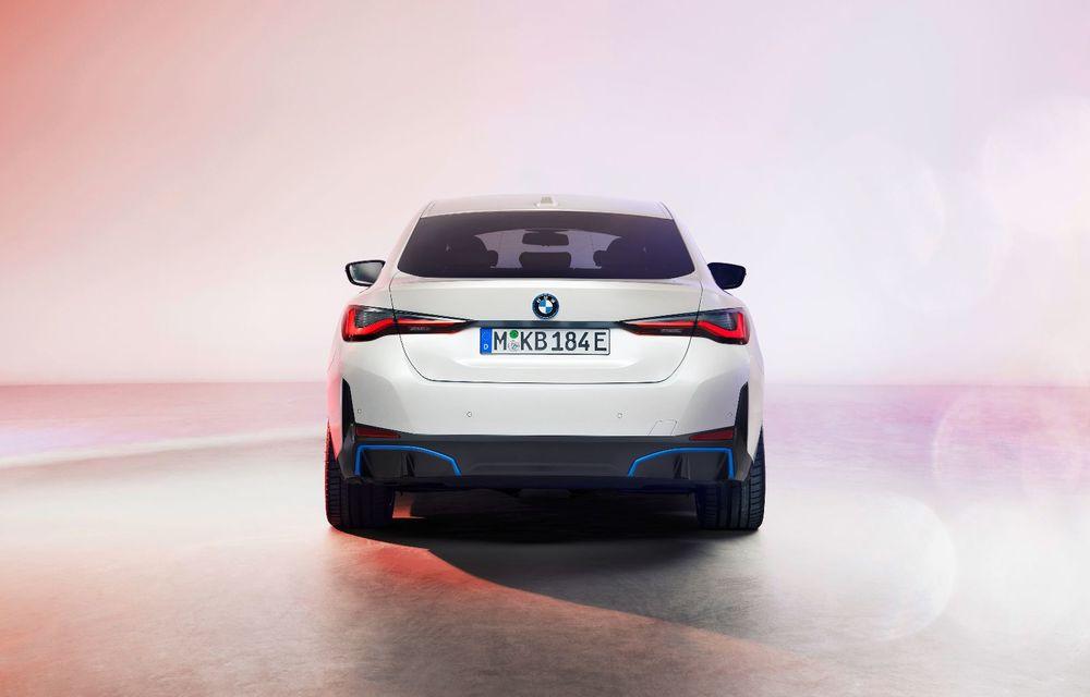 Primele informații și imagini cu noul BMW i4, sedanul electric cu 590 km autonomie - Poza 6