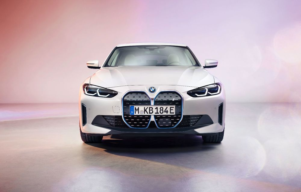 Primele informații și imagini cu noul BMW i4, sedanul electric cu 590 km autonomie - Poza 5