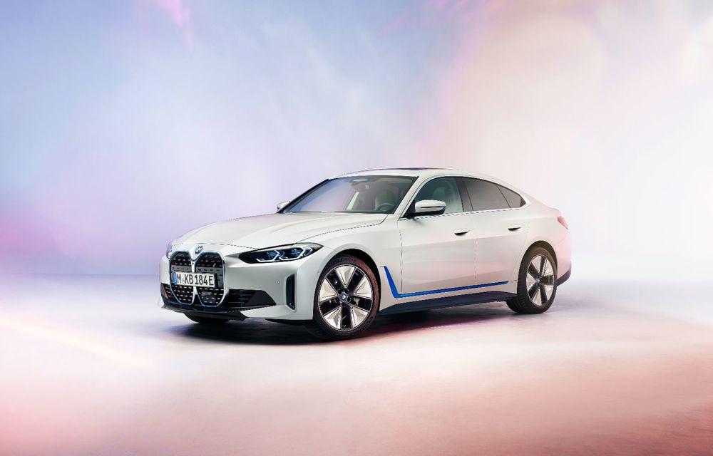 Primele informații și imagini cu noul BMW i4, sedanul electric cu 590 km autonomie - Poza 2