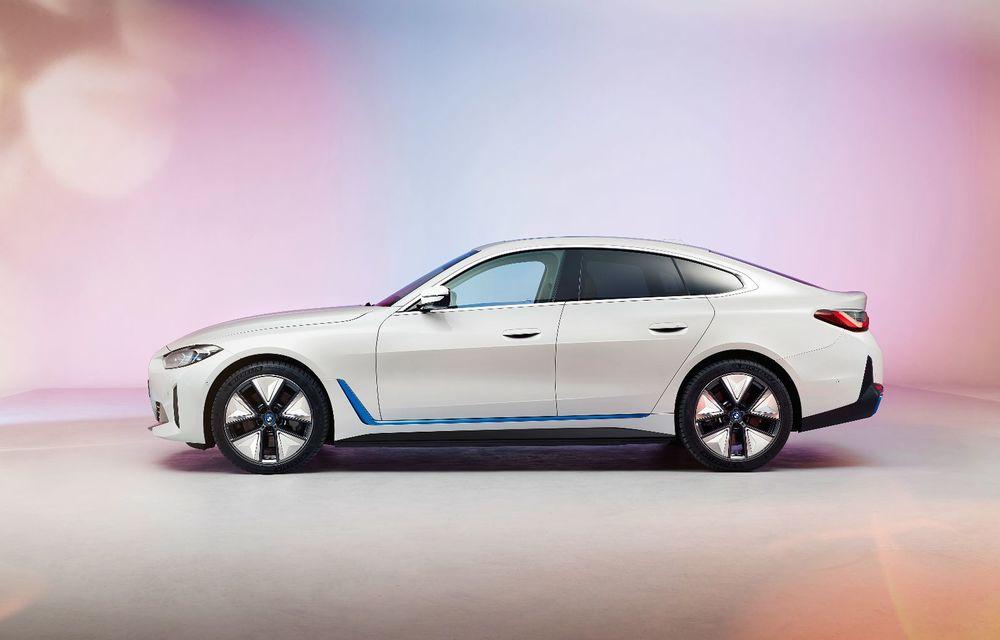 Primele informații și imagini cu noul BMW i4, sedanul electric cu 590 km autonomie - Poza 4