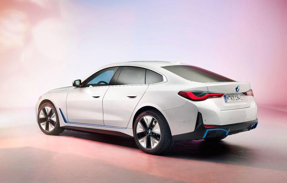 Primele informații și imagini cu noul BMW i4, sedanul electric cu 590 km autonomie - Poza 3