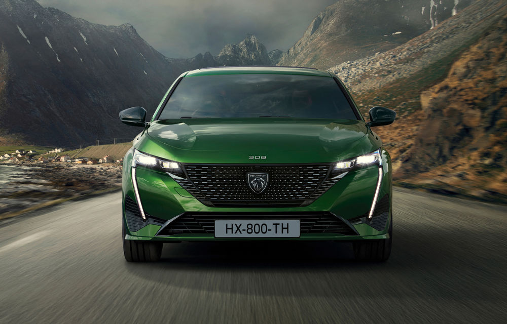 OFICIAL: Galerie foto și informații cu noul Peugeot 308 - Poza 3