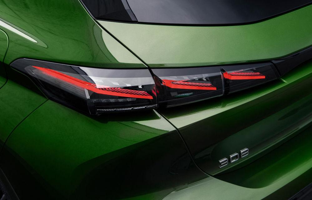 OFICIAL: Galerie foto și informații cu noul Peugeot 308 - Poza 22