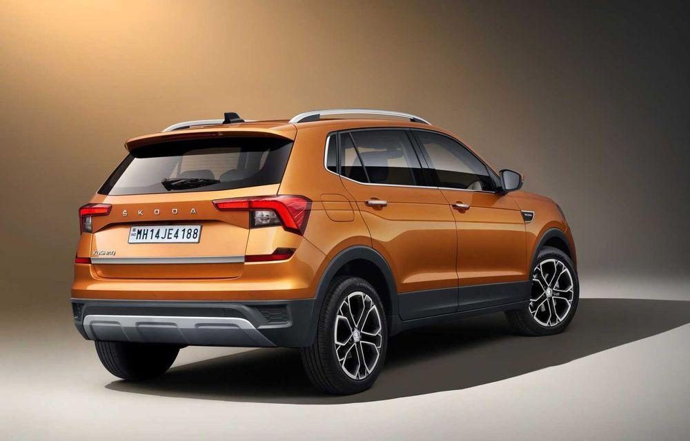 Skoda lansează noul Kushaq: SUV disponibil exclusiv pe piața din India - Poza 7