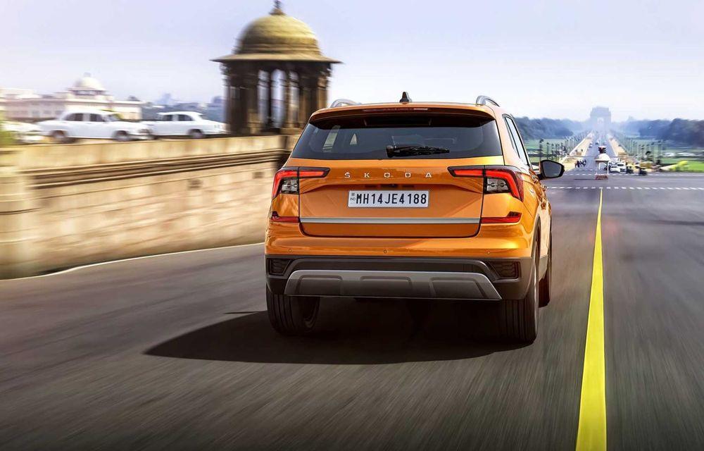 Skoda lansează noul Kushaq: SUV disponibil exclusiv pe piața din India - Poza 9